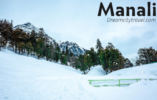 Manali:- The snowy - Best Places to visit in India