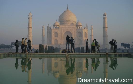 Taj Mahal Height - Location Image