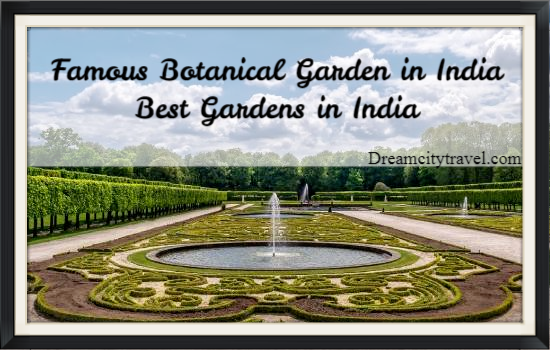 Famous Botanical Garden in India - Best Gardens in India