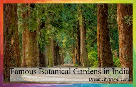 Famous Botanical Garden in India