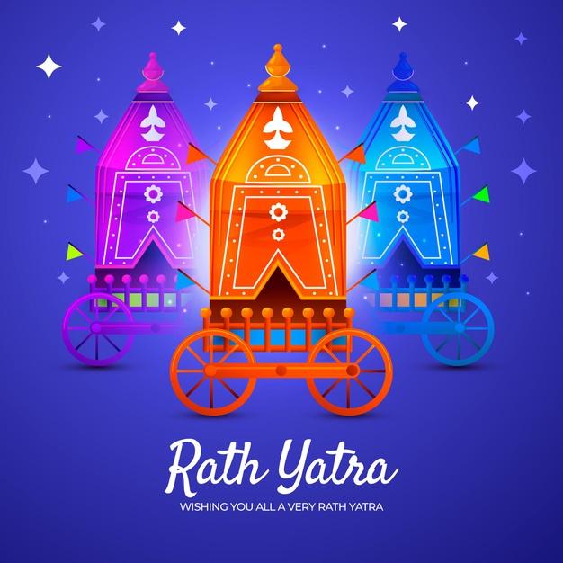 Happy Rath Yatra Images, Quotes